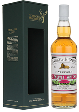 The Glenlivet Scotch Single Malt 21 Year By Gordon & Macphail